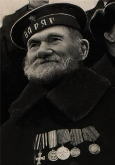 """The seaman from the ship """"Varyag"""". Soviet Army, Men In Uniform, Red Army, History Photos, Character Development, Eastern Europe, Warfare, Sailor, Empire"""