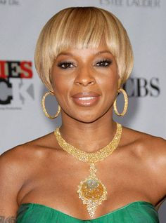 Mary J Blige Hairstyles - December 2, 2007 - DailyMakeover.com