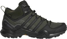 Amazing offer on adidas outdoor Men's Terrex Swift Mid GTX Night Carbon/Black/Base Green 14 D US D (M) online - Topprofashion Best Hiking Boots, Hiking Gear, Hiking Shoes, Snow Boots, Winter Boots, Waterproof Motorcycle Boots, Mid Top Shoes, Outdoor Men, Trail Shoes