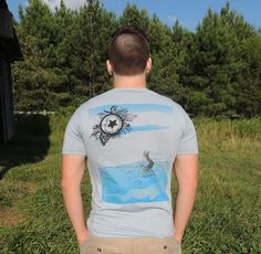 Pale Moonlight Zentangle design by Amanda on unisex t-shirt.