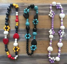 Wooden Bead Necklaces, Wooden Beads, Beaded Jewellery, Beaded Necklace, Beadwork, Jewerly, Resin, Bracelets, Gifts