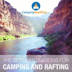 A week on the river can change your life, the ultimate outdoorsy experience! Camping rafting trip anyone? Here's some great destinations you might like. Go Outdoors, The Great Outdoors, Best Places To Camp, Places To Go, Camping Ideas, Camping Hacks, Travel Around The World, Around The Worlds, Whitewater Rafting