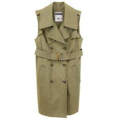 Trench vest.