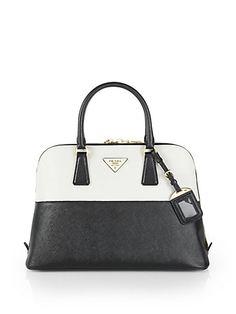 prada nylon messenger bags - Prada - Saffiano Vernice Embellished Frame Pyramid Top Handle Bag ...