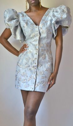 Harlow Puff Sleeve Dress image 4