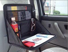 Car Laptop Holder Tray Bag Mount Back Seat Auto Table Food Work Desk Organizer
