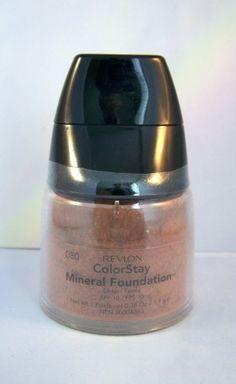 Revlon Makeup ColorStay Mineral Foundation - Deep 080  Reduced Price #Revlon