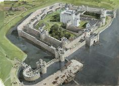 The Tower London which is different to the current layout. Traitors gate was accessed from the River