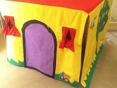 Blues Clues Table house