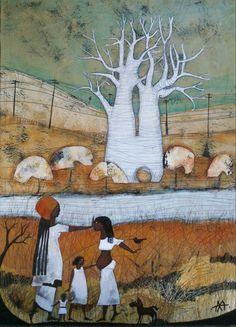 TRANSMISION, Pinturas y Cuadros original, Acrílico sobre Tabla, Pinturas y Cuadros Familia