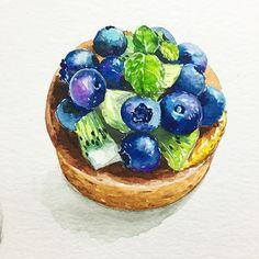 dalgura : Blueberrytart