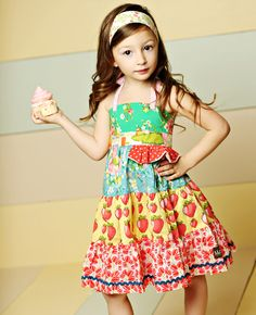 Matilda Jane Clothing ~ Good Hart ~ MEADOW SWEET ELLIE DRESS #matildajaneclothing #MJCdreamcloset