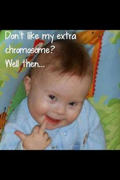 Kids with Down Syndrome. — with Trystan Izaksyn.