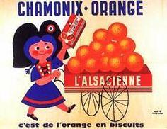 Chamonix orange. J'ai encore le goût dans la bouche. Je me demande tout à coup pourquoi une pâtisserie alsacienne a le nom d'une ville des Alpes...