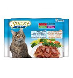 STUZZY CAT NASELLO, SALMONE 4 X 100 GR  #petshouseacerra    1,60 €    Clicca sul link -> http://www.pets-house.it/per-gatti-adulti/5470-stuzzy-cat-nasello-salmone-4-x-100-gr-01033182.html