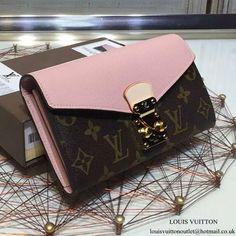 39db8f001720 Louis Vuitton M64093 Pallas Wallet Monogram Canvas Cute Purses