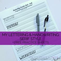 Question about writing handwritten letter?