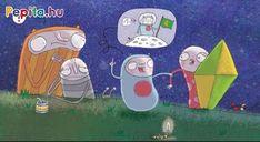 Az elhagyatott réten sem fenékig tejfel az élet! A Hold például úgy tud ragyogni, hogy Fityirc és Valér nem tud tőle aludni. Le kéne kapcsolni! Kísérleteik kudarcba fulladnak, végül Bélabá felvilágosítja barátait, hogy a Hold nem lámpa, hanem a Holdbéli Nyúl égi lakása! ( Vagy lehet, hogy egy hosszúfülű kuflié...?) Family Guy, Kids Rugs, Hold, Fictional Characters, Amp, Products, Kid Friendly Rugs, Fantasy Characters, Gadget