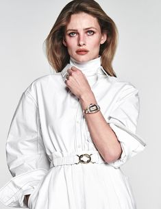 Edita Vilkeviciute Means Business In 'Belle Carrure' Lensed By Chris Colls For Vogue Paris April 2018  https://www.anneofcarversville.com/style-photos/2018/3/27/yewfnxwzdp959kapha31gmak4fanvm