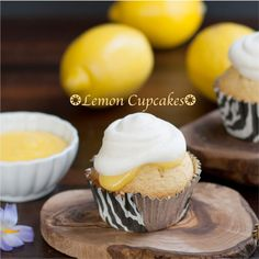 Lemon Cupcakes - Cupcake Daily Blog - Best Cupcake Recipes .. one happy bite at a time!
