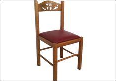 Καρέκλα εκκλησίας ΚΩΔ. 321 | Αγγελόπουλος Ξυλόγλυπτα Εκκλησιαστικά έπιπλα Dining Chairs, Stool, Furniture, Home Decor, Dinner Chairs, Homemade Home Decor, Dining Chair, Stools, Home Furnishings