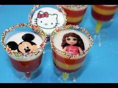 Tutorial: Copas de gelatina en capas con transfer