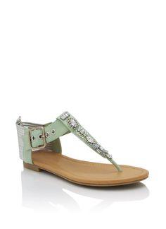 embellished t-strap sandals $20.30  Soo cute