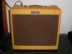 Fender Blues Jr. NOS! This is one super sexy combo tube amp! Love the vintage tweed rock n roll look!