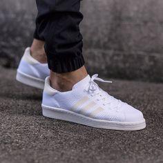 adidas Originals Campus 80s Primeknit: White