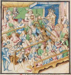 Diebold Schilling, Amtliche Berner Chronik, Bd. 3 Bern · 1478-1483 Mss.h.h.I.3  Folio 170