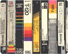 Vhs Detail I Kitchen Cutting Board by Hollis Brown Thornton - Rectangle