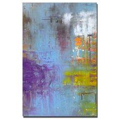 Coco......original acrylic painting abstract art. $365.00, via Etsy.