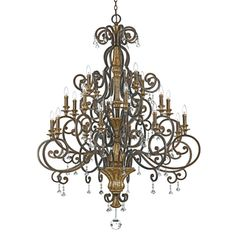 Quoizel 'Marquette' 20-light Chandelier - Overstock™ Shopping - Great Deals on Quoizel Chandeliers & Pendants
