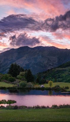 The secret pond in New Zealand