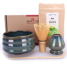 A ceremonial Matcha tea set is a must have for any one who loves Japan. This set makes a great gift.