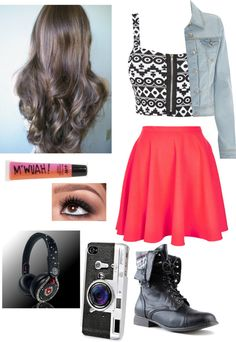 """""""A Day In High School #23"""" by gigglez-loves-tacos ❤ liked on Polyvore"""
