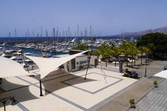 """Come and work in beautiful Puerto Calero"" for Lanzarote Business and Residents Association"