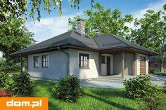 DOM.PL™ - Projekt domu AT Bursztyn CE - DOM AT1-17 - gotowy koszt budowy Gazebo, Shed, Outdoor Structures, Outdoor Decor, Studio, House, Home Decor, Kiosk, Decoration Home