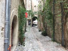 My street looking out to Place Gambetta