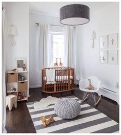 White Wood Floor Lamp Nursery Baby Boy Rooms Bedroom Cribs