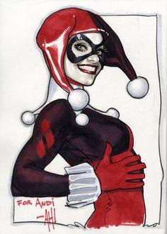 Harley Quinn by Adam Hughes