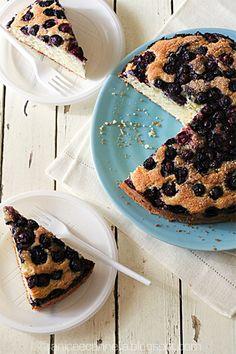la torta di mirtilli