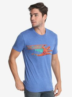 Disney Hercules Air Herc T-Shirt, BLUE