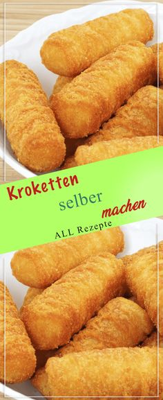Making croquettes yourself: This is how they are guaranteed to succeed. # Cooking # delicious Making croquettes yourself: This is how they are guaranteed to succeed. Hot Dog Recipes, Lunch Recipes, My Recipes, Cooking Recipes, Homemade Banana Bread, Food Cravings, Food Items, Diy Food, Eating Habits
