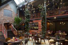 Las Iguanas restaurant by B3 Designers, Derby   UK restaurant