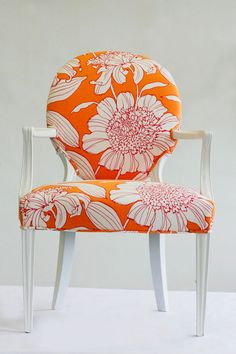 Andrea Mihalik Wild Chairy Orange Chair