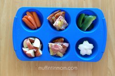 Muffin Tin Mom: 30 Days of Muffin Tin Meals.  Cute and creative ideas for serving up toddler fare.