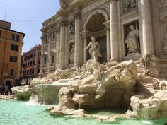 #Original #Trevi #Fountain #Rome #Italy