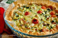 Torta rustica zucchine e mascarpone | La cucina di zia Ale