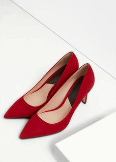 Zapato salón piel | MANGO